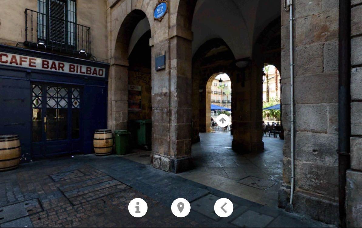 Bilbo VR. Una aplicación para móvil con imágenes 360º de Bilbao