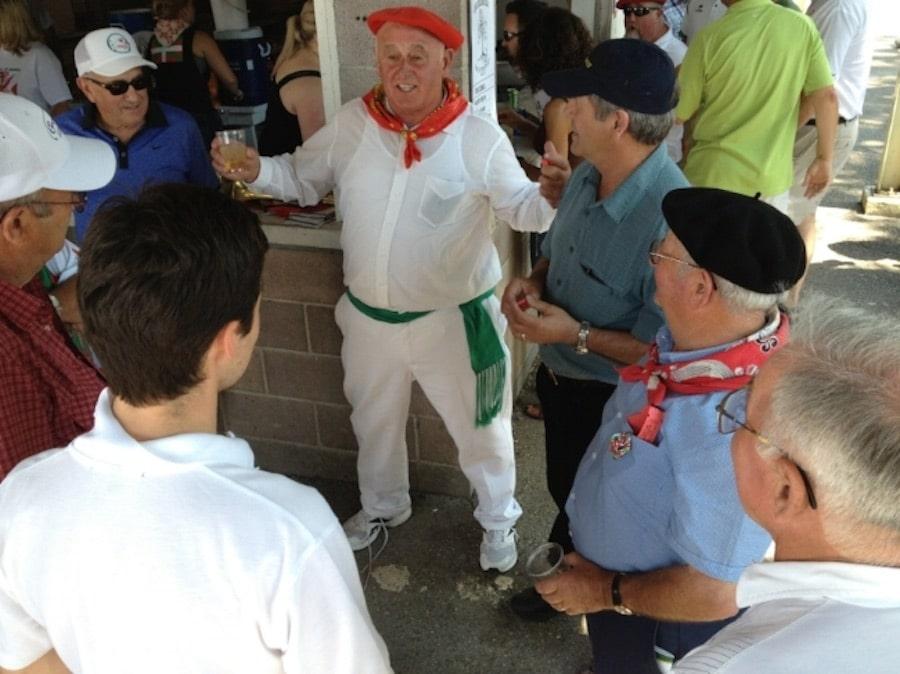 Bertsolariak at the National Basque Festival in Elko. Photo by Meg Glaser.