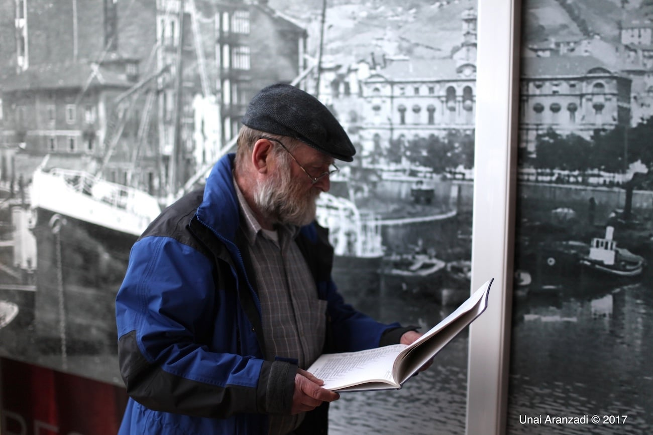 Halvard Nilsen en Olabeaga, Bilbao