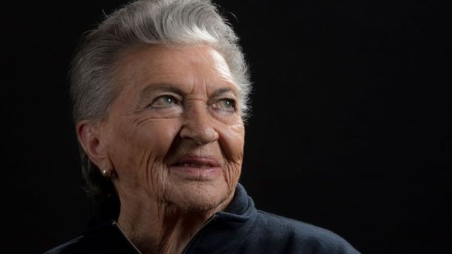 Chilean pilot Margot Duhalde has passed away on February 5, 2018 in Santiago de Chile, at the age of 97 (AFP).