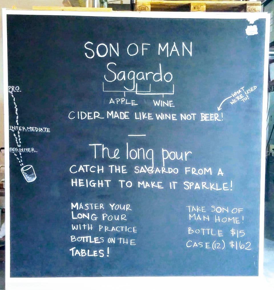 """""""Sagardo"""" is the Basque word for cider."""