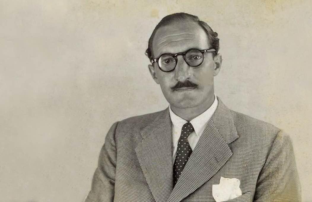 Jose Antonio Aguirre disfrazado de José Andrés Álvarez de la Lastra, ciudadano panameño, para huir de los nazis
