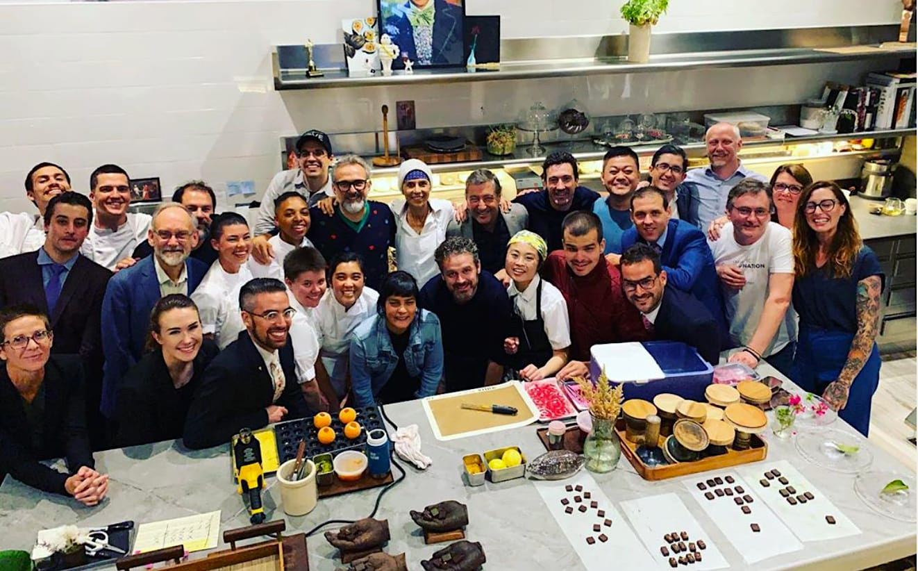 El jurado del Basque Culinary World Prize reunido en San Francisco el 15-7-2019