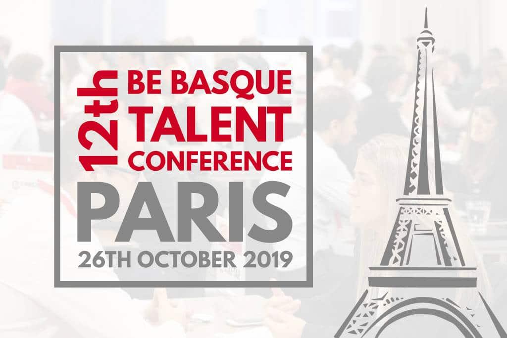 12TH BE BASQUE TALENT CONFERENCE - Paris