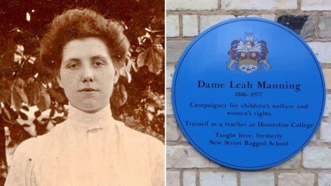 Homenaje en Cambrigde a Leah Manning