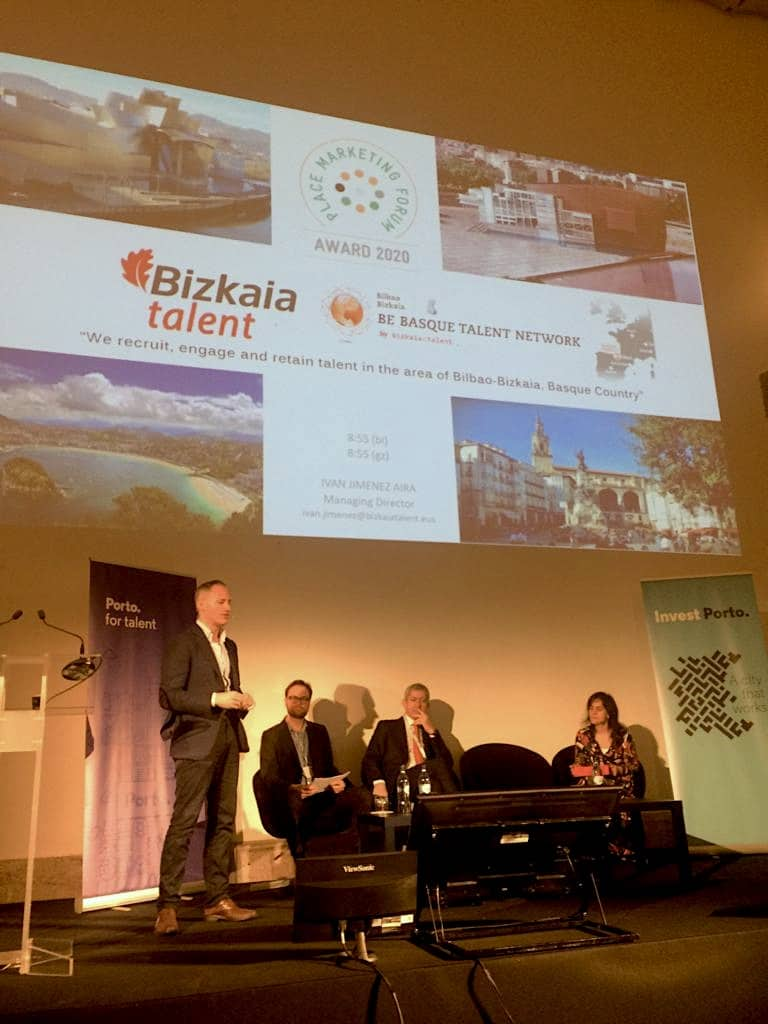 Bizkaia Talent en City Forum en Oporto 2020